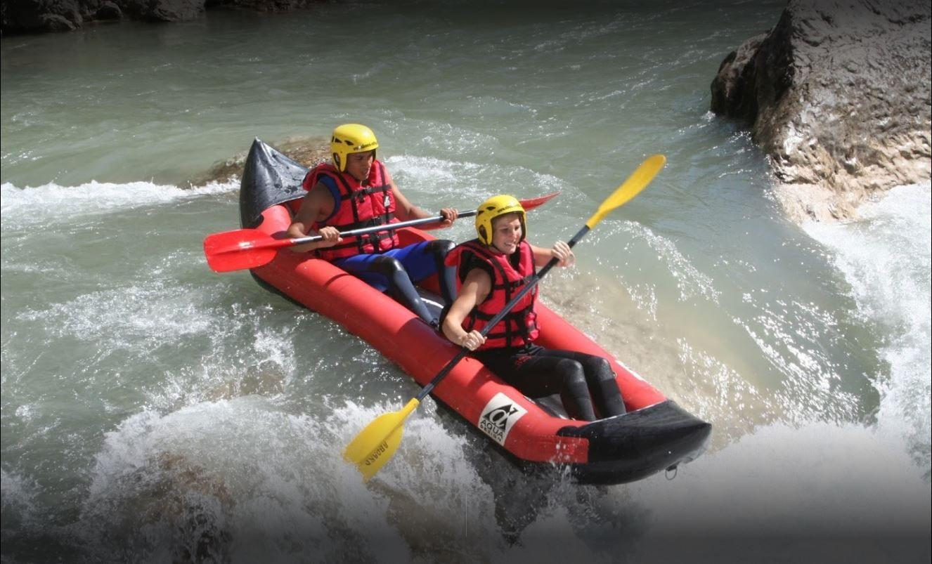Aboard Rafting